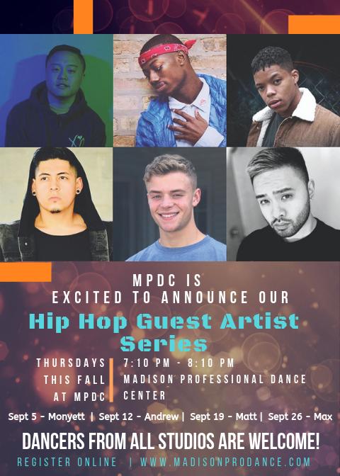 Hip Hop Guest Artist Series