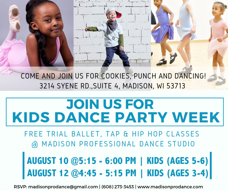 free dance class at mpdc